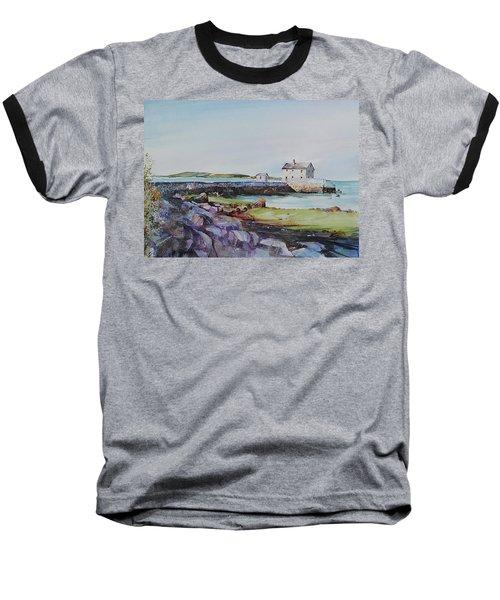 Delano's Wharf At Rock Nook Baseball T-Shirt by P Anthony Visco