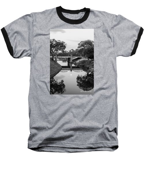 Delaware Creek At Dawn Baseball T-Shirt