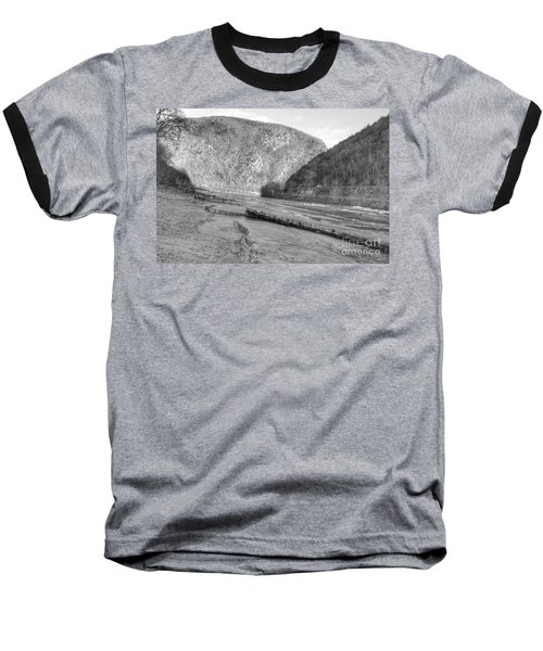 Delaware Water Gap In Winter Baseball T-Shirt
