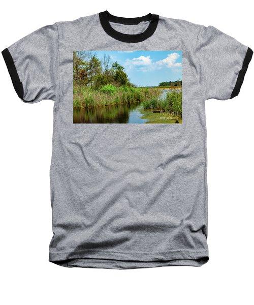 Delaware Wetlands Baseball T-Shirt