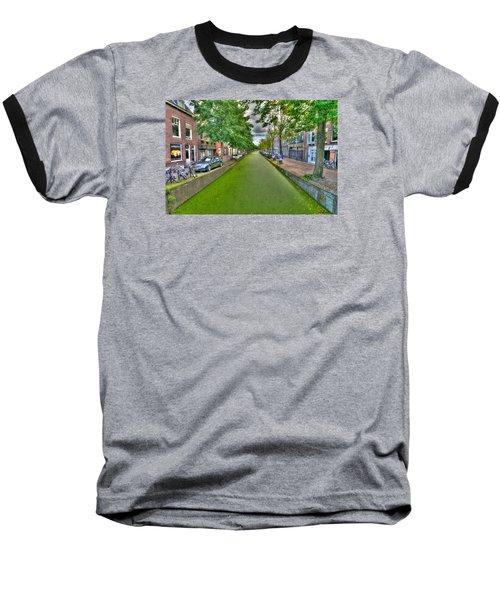 Delft Canals Baseball T-Shirt