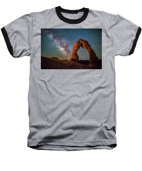 Baseball T-Shirt featuring the photograph Delicate Air Glow by Darren White