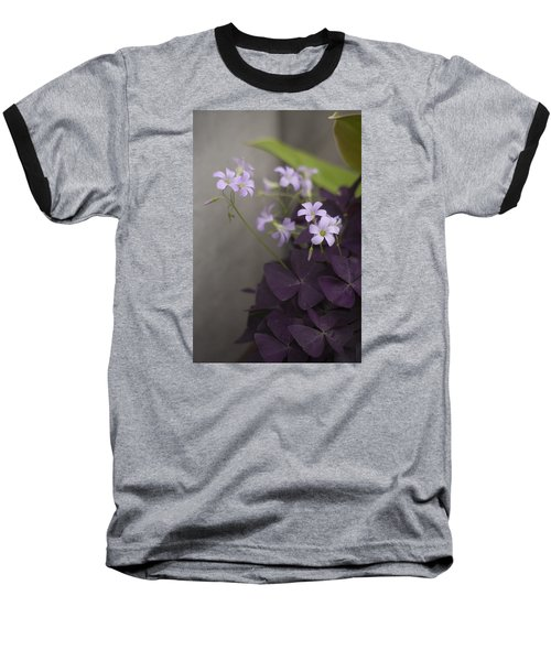 Delicate And Dark Baseball T-Shirt by Morris  McClung