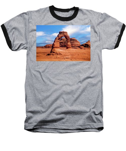 Delicate Arch From Lower Viewpoint Baseball T-Shirt