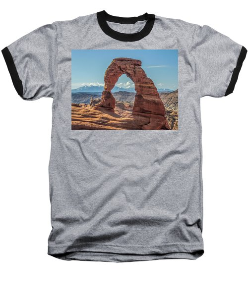 Delicate Arch In Early Morning Baseball T-Shirt