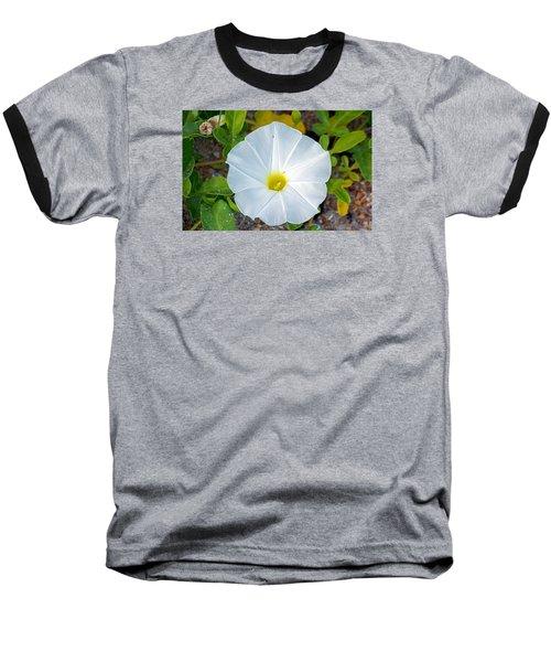 Delicate Beach Flower Baseball T-Shirt