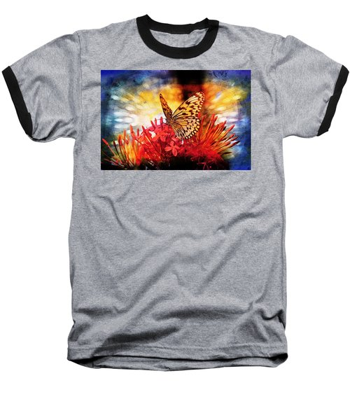 Nature Baseball T-Shirt featuring the photograph Delicate Beauty by Aaron Berg