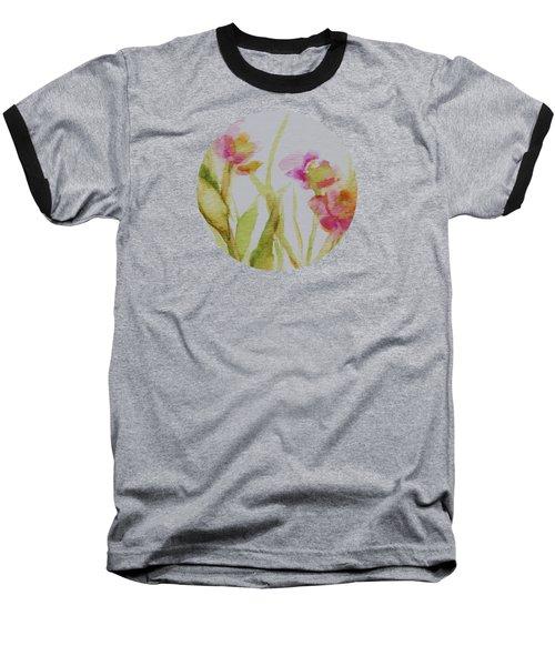 Delicate Blossoms Baseball T-Shirt