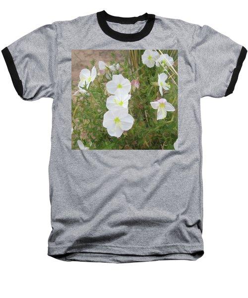 Delicate Desert Bloom - Death Valley Baseball T-Shirt