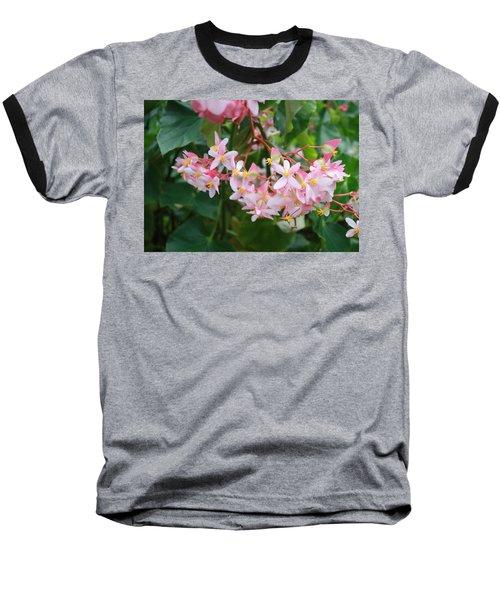 Delicate Flowers Baseball T-Shirt