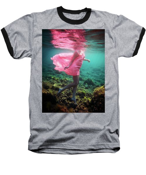 Delicate Mermaid Baseball T-Shirt