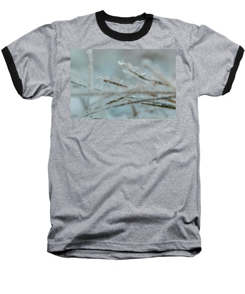 Delicate Morning Frost  Baseball T-Shirt