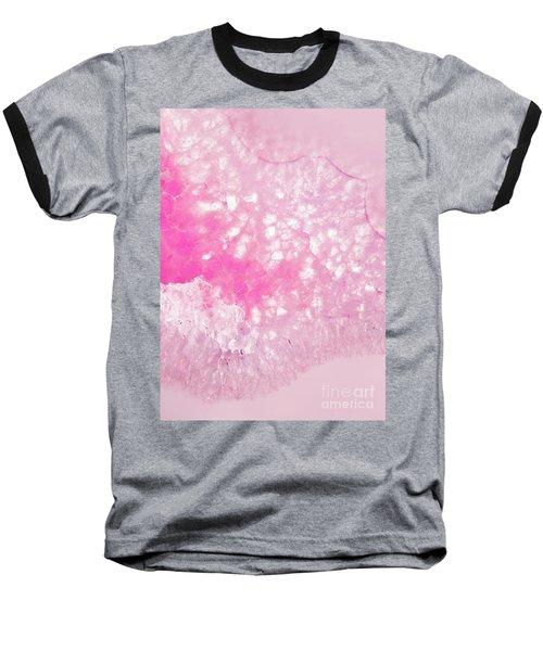 Delicate Pink Agate Baseball T-Shirt