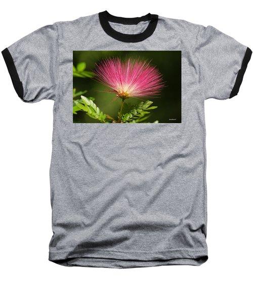 Delicate Pink Bloom Baseball T-Shirt by Gary Crockett