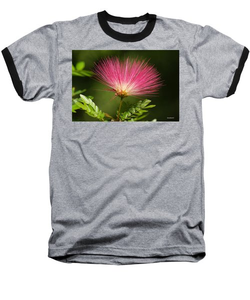Delicate Pink Bloom Baseball T-Shirt