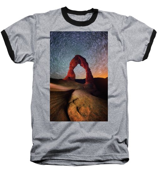 Baseball T-Shirt featuring the photograph Delicate Spin by Darren White