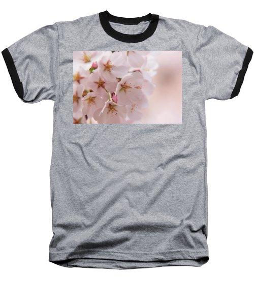 Delicate Spring Blooms Baseball T-Shirt
