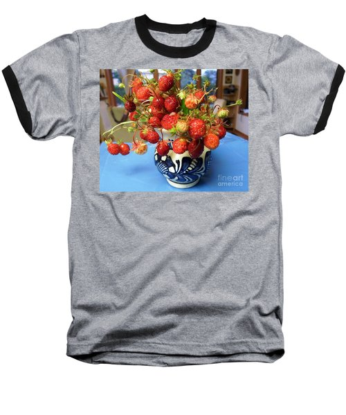 Baseball T-Shirt featuring the photograph Delicate by Vicky Tarcau