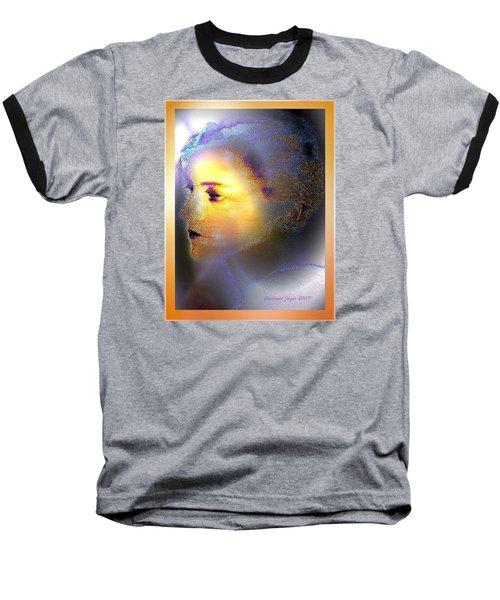 Delicate  Woman Baseball T-Shirt by Hartmut Jager
