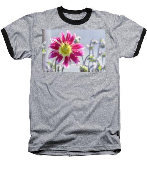 Delicious Dahlia Baseball T-Shirt