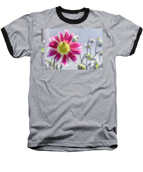 Baseball T-Shirt featuring the photograph Delicious Dahlia by Belinda Greb