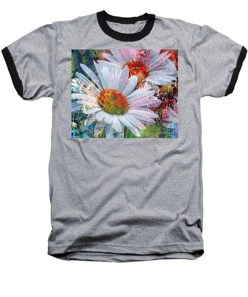 Delightful Daisies Baseball T-Shirt