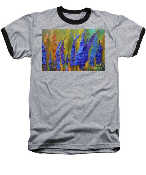 Delphiniums Baseball T-Shirt