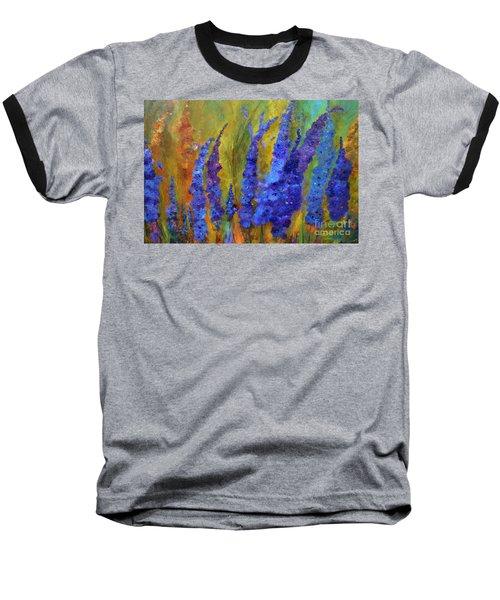 Delphiniums Baseball T-Shirt