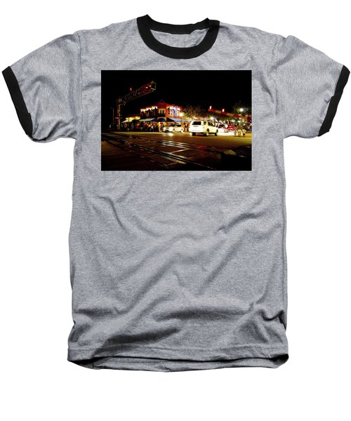 Delray Beach Railroad Crossing Baseball T-Shirt