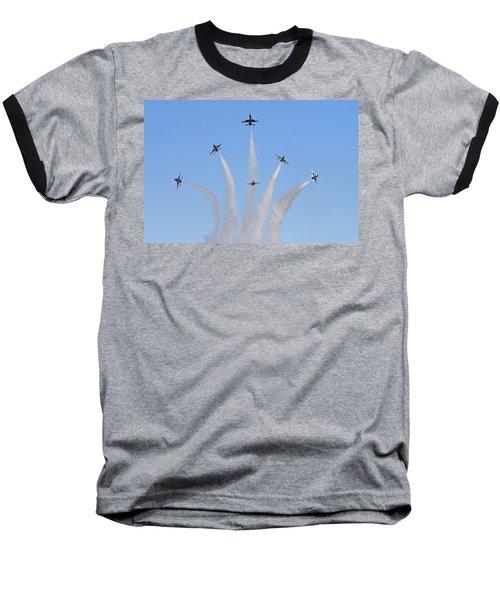Delta Burst Baseball T-Shirt by Shoal Hollingsworth