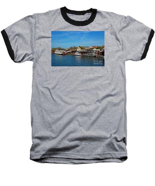 Delta King Baseball T-Shirt by Debra Thompson