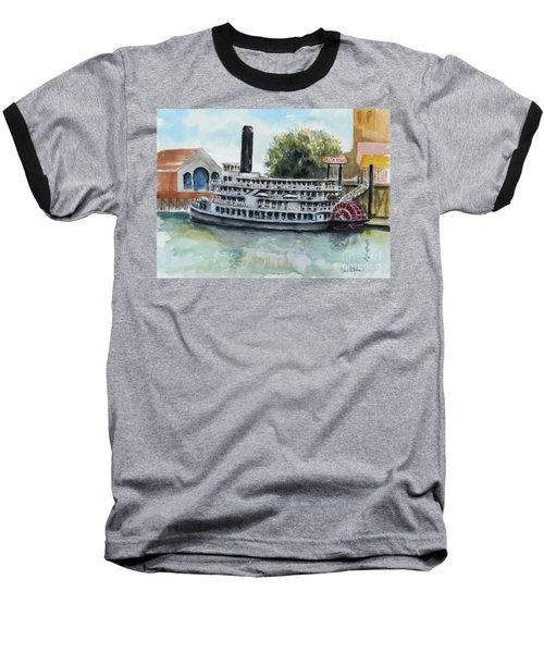 Delta King Baseball T-Shirt by William Reed