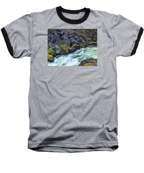 Deluge At The Falls Baseball T-Shirt