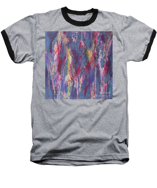 Baseball T-Shirt featuring the painting Delve Deep 2 by Mini Arora
