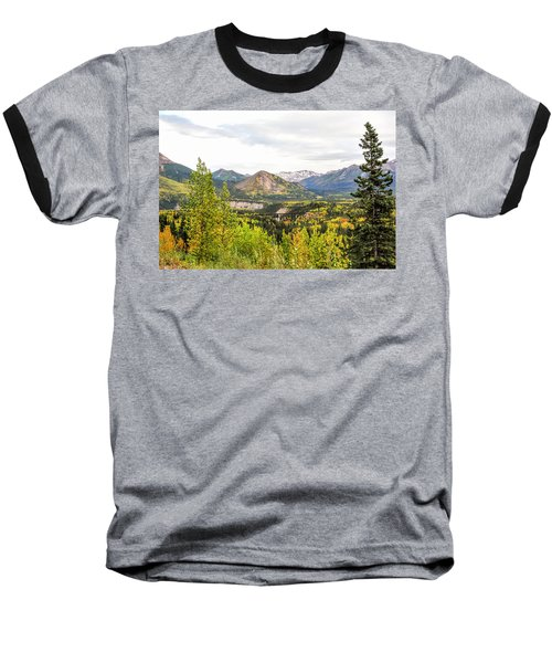 Denali National Park Landscape No 2 Baseball T-Shirt