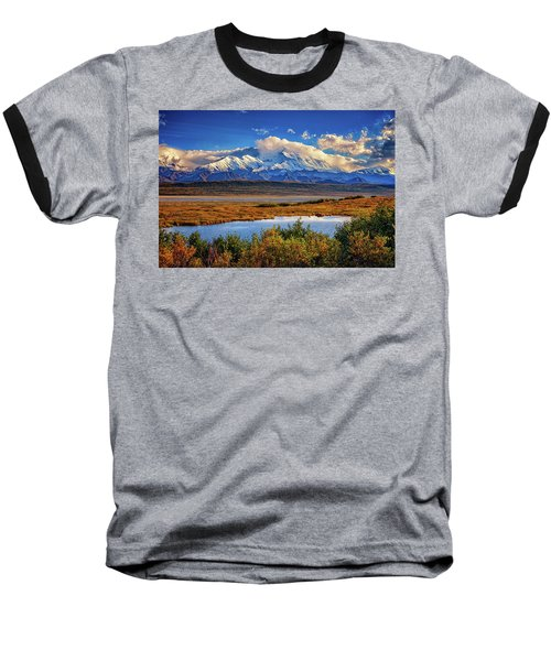 Denali, The High One Baseball T-Shirt