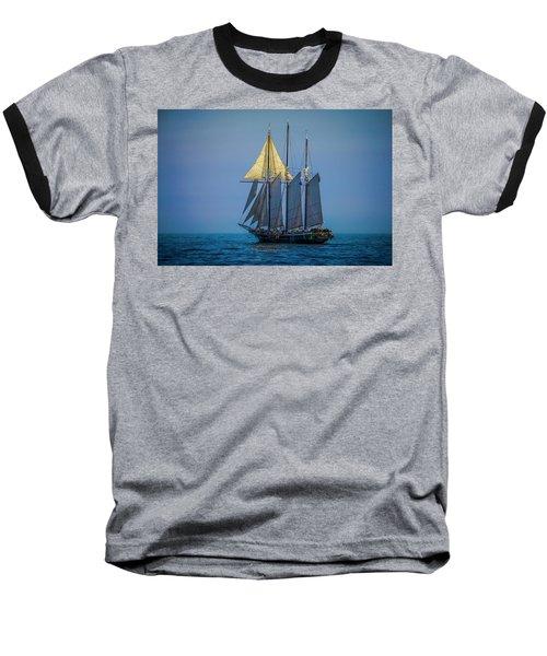 Denis Sullivan - Three Masted Schooner Baseball T-Shirt