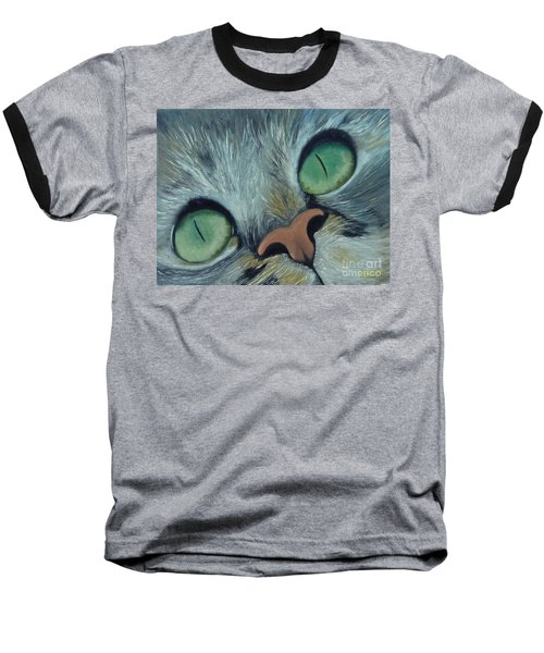 Denise's Cat Jasmine Baseball T-Shirt