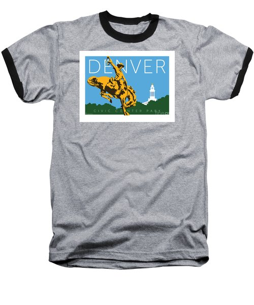 Denver Civic Center Park Baseball T-Shirt