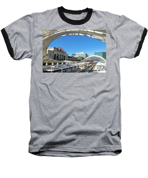 Denver Co Union Station Baseball T-Shirt