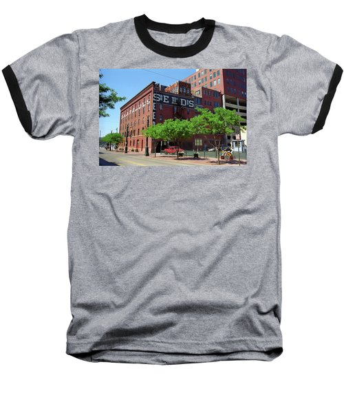 Baseball T-Shirt featuring the photograph Denver Downtown Warehouse by Frank Romeo