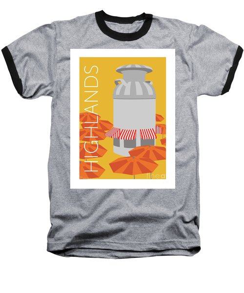 Denver Highlands/gold Baseball T-Shirt