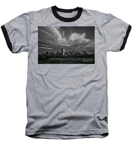 Denver Skyline Baseball T-Shirt