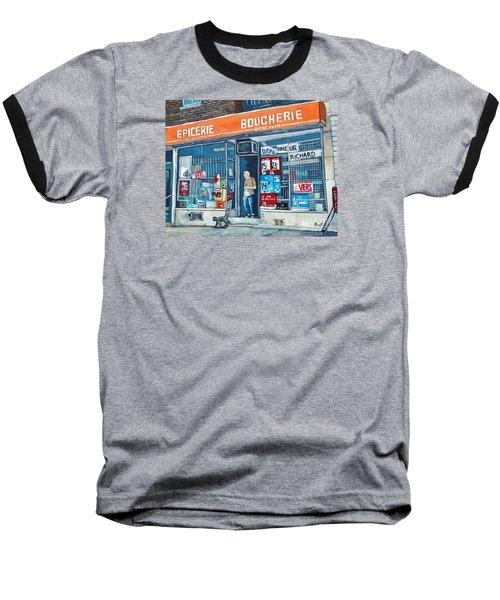 Depanneur Richard Baseball T-Shirt
