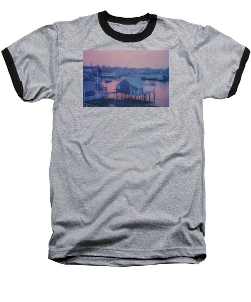 Departing Nantucket Baseball T-Shirt