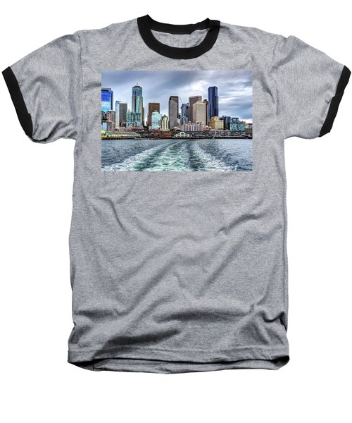 Departing Pier 54 Baseball T-Shirt