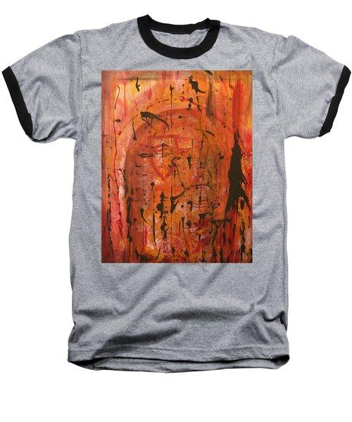 Departing Abstract Baseball T-Shirt