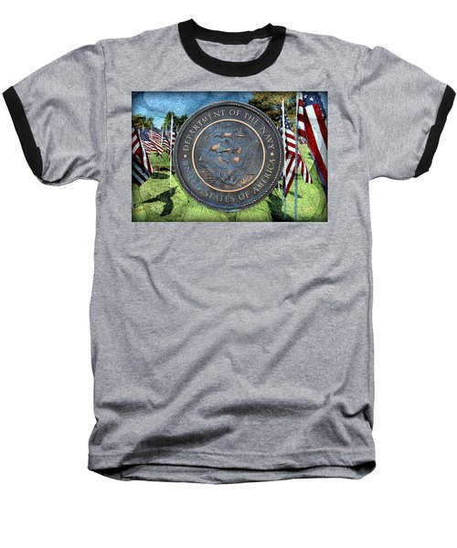 Department Of The Navy - United States Baseball T-Shirt