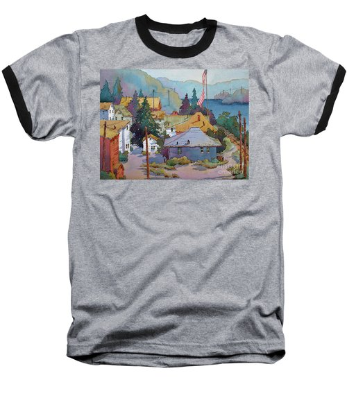 Depot By The River Baseball T-Shirt