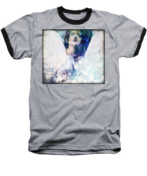 Depression Angel Baseball T-Shirt